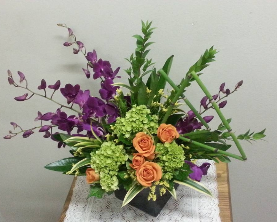 Beautiful centerpieces and floral decor